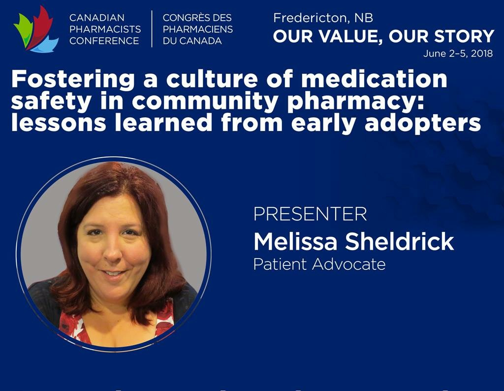 Melissa Sheldrick CPhA Conf Ad